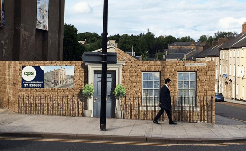 Upper English Street 3D Hoarding