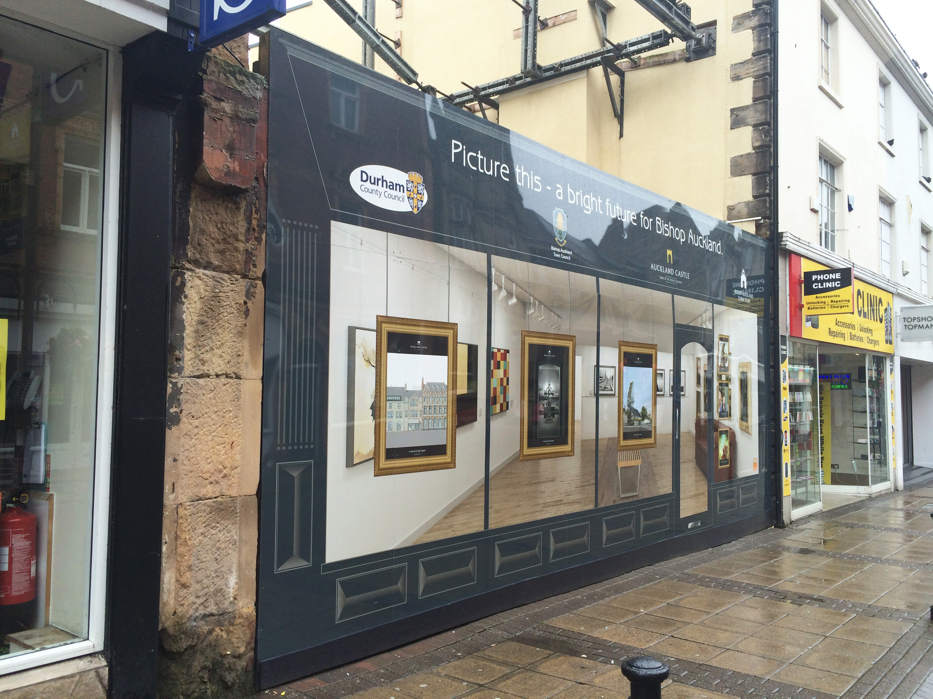 Shop Wraps Show Possibilities For Bishop Auckland