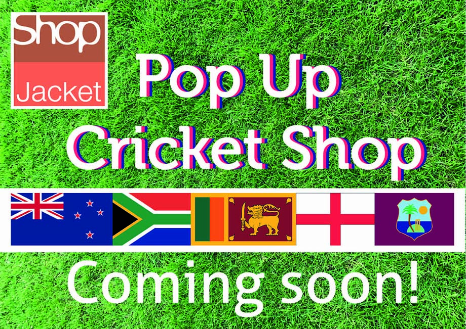 Pop Up Cricket Shop Coming To Chester Le Street!