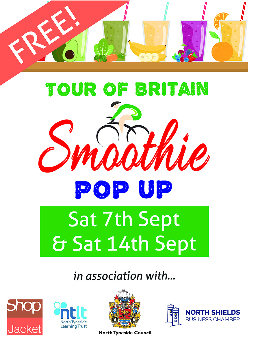 Pop Up Smoothie Bike Shop, This Saturday!