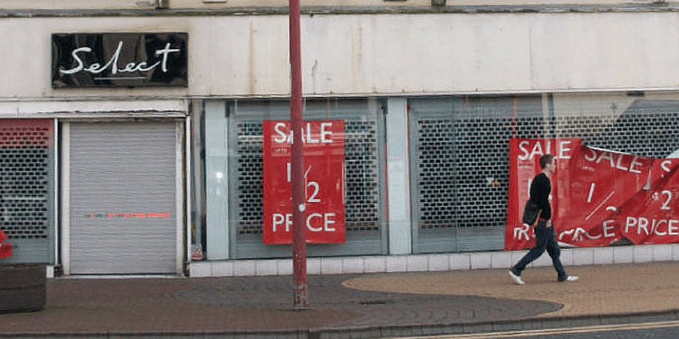 A Neglected Shop Does Not Look Enticing To Tenants