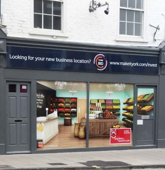 The York BID Gives Vacant Commercial Space In The City Centre A Make-over
