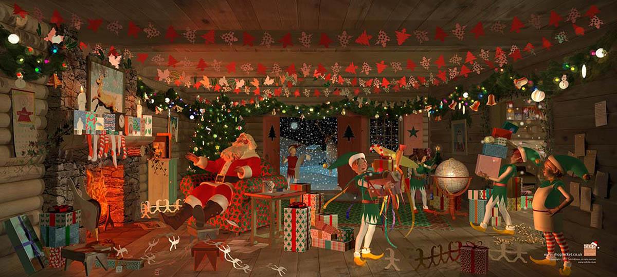 Backlit Christmas Shopjacket? Order Yours…