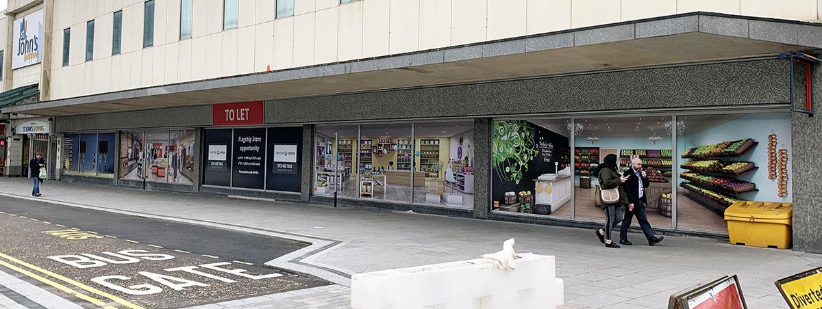 Former B&M St John's Shopping Centre, Preston